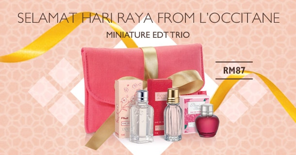 Celebrate Raya with Mini EDT TRIO
