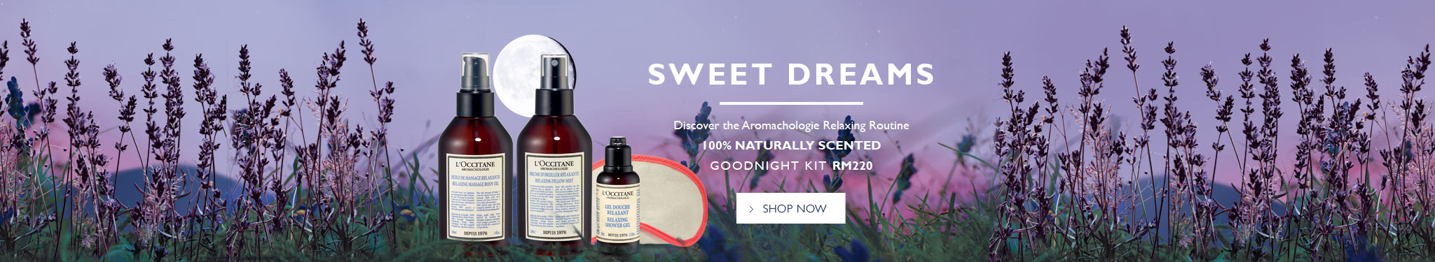 Sweet Dreams with aromachologie