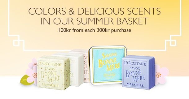 Colors & delicious scents in our summer basket
