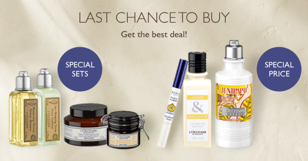 Last chance to buy! Get the best deal! Special price, special sets.