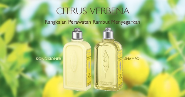 Rangkaian Perawatan Rambut Citrus Verbena