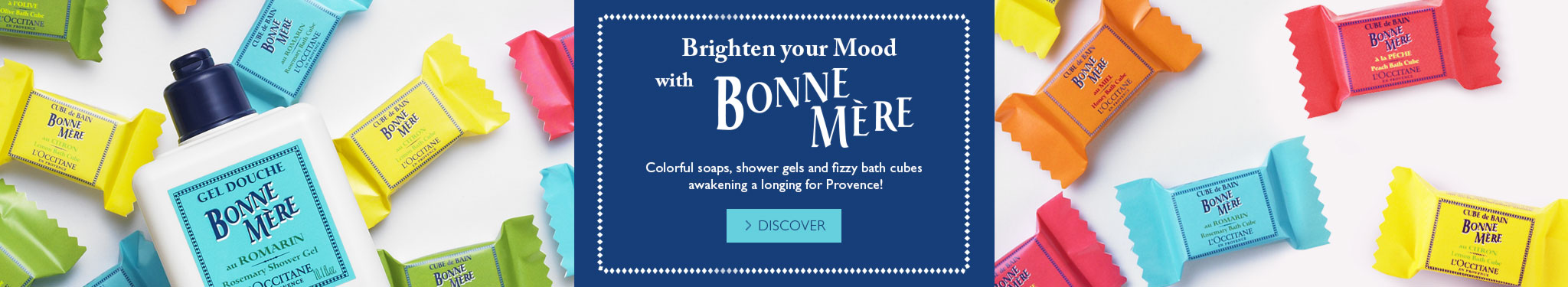 Brighten your mood with Bonne Mere