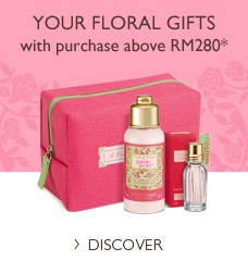 Your gifts with purchase abover RM280