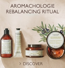 The Aromachology bath and body collection offers the efficiency of essential oils