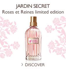 Roses et Reines Jardin Secret Eau de Toilette