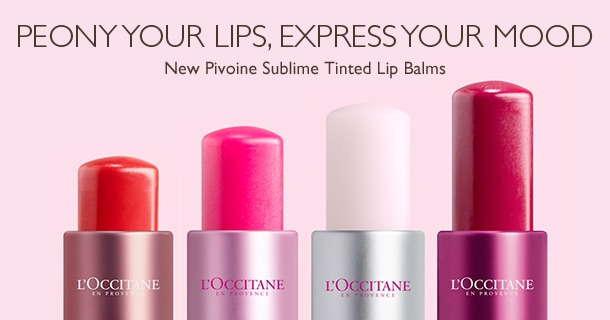 Peony your lips, express your mood