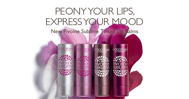 Peony your lips