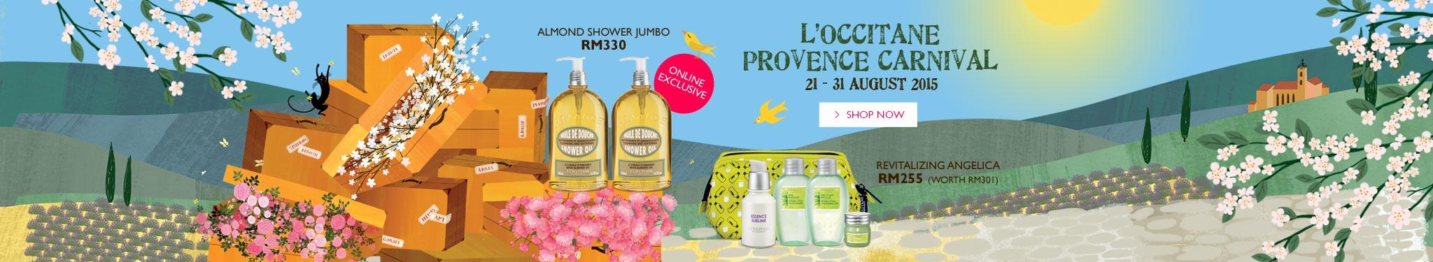 L'OCCITANE Provence Carnival