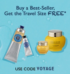 Free Travel Size with the purchase of a best seller!