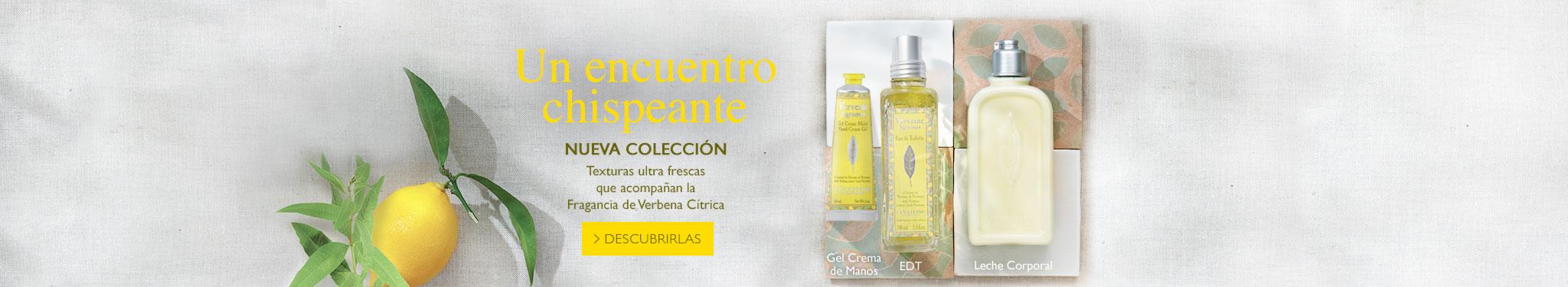 Nueva colección verbena citrus