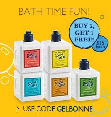 """Buy 2, get 1 Bonne Mere Showerl gel"""" width="""