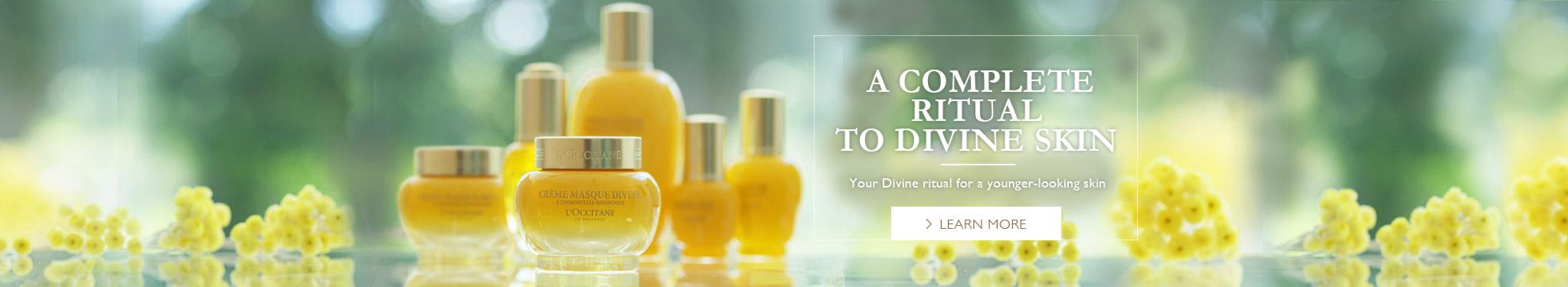 A complete ritual to Divine skin