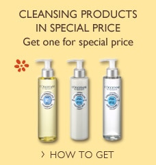 Cleansing products in special price