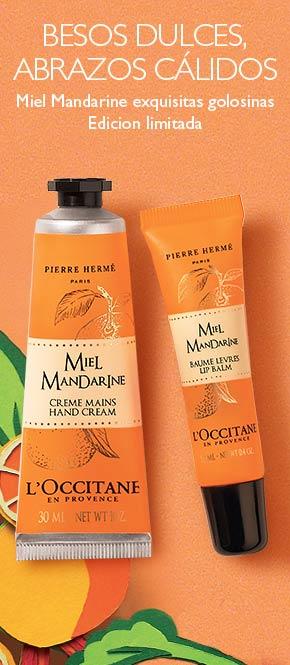 Productos miel y mandarina