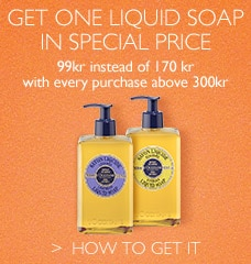 Get one liquid soap in special price