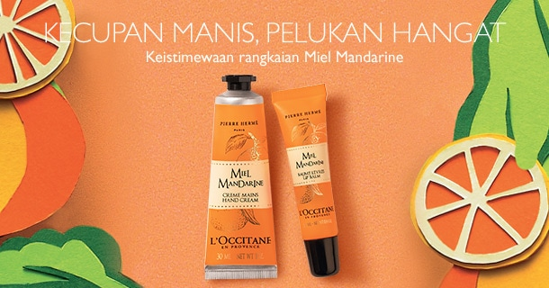 Miel Mandarine Hand Cream & Lip Balm