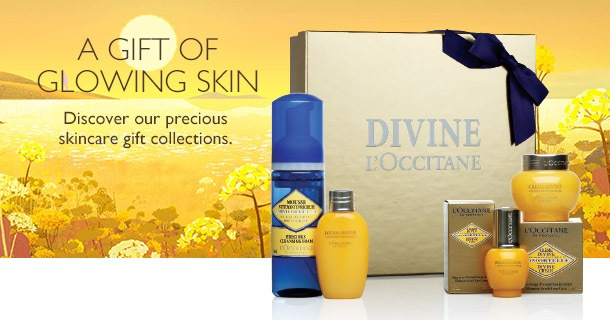 the gift of glowing skin - skincare collections