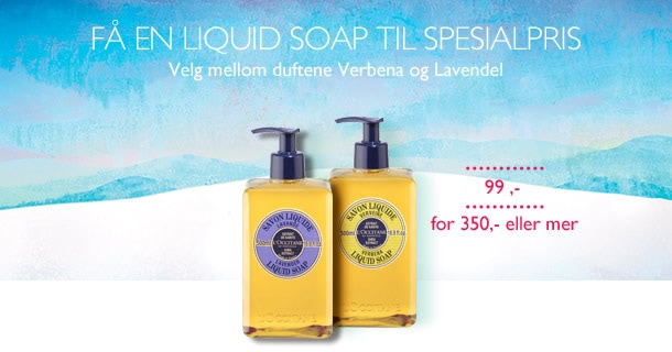 Få en Liquid Soap til spesialpris