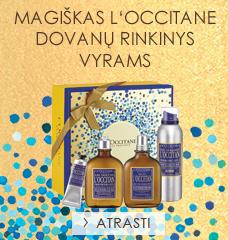 Magiškas L'Occitane dovanų rinkinys vyrams