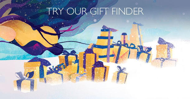 Try our gift finder