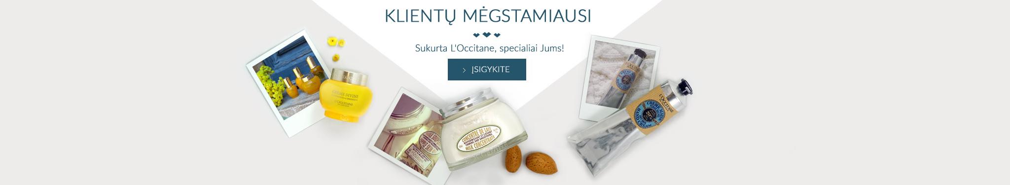perkamiausius L'Occitane produktai