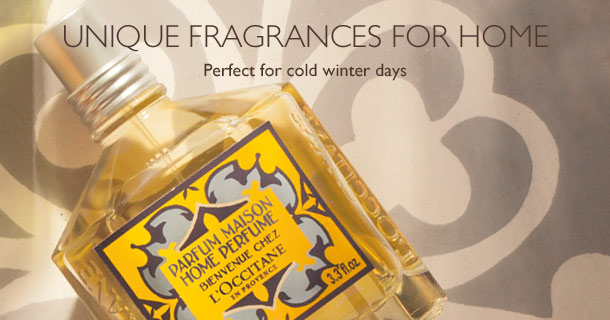 Unique fragrances for home