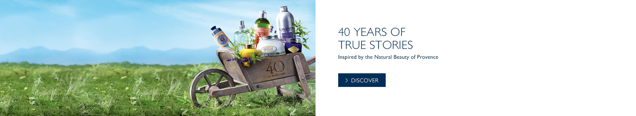 Discover our 40th anniversary