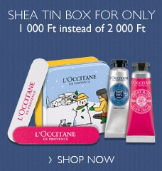 Shea tin box for special price