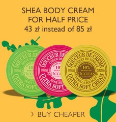 Shea body cream for special price