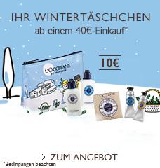 Ihr Wintertäschchen für 10€ ab einem 40€-Einkauf