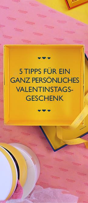 5 Tipps für Geschenke zum Valentinstag