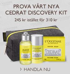 Prova vårt nya Cedrat Discovery Kit