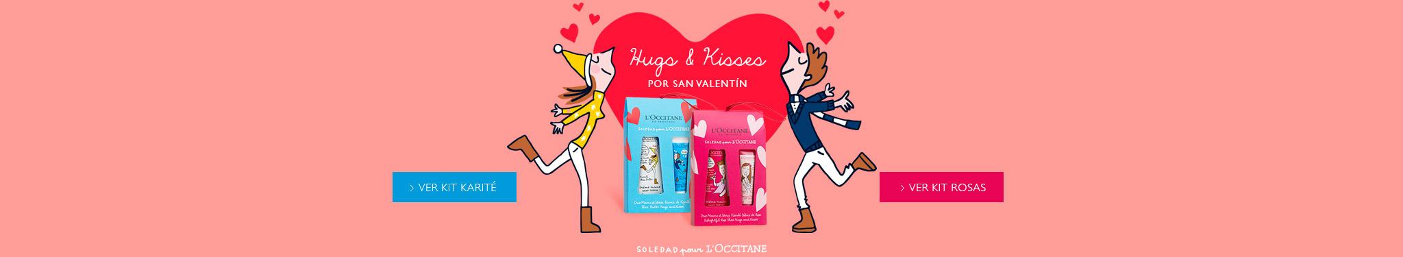 Hugs & Kisses por San Valentín