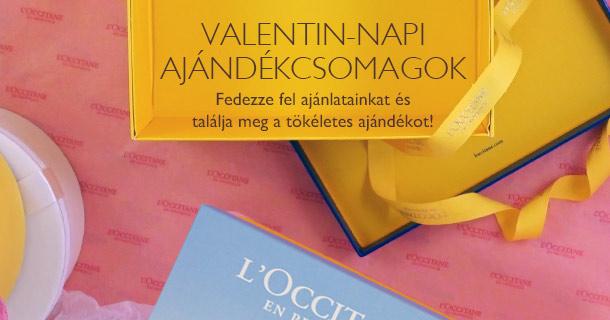 Valentin-napi ajándékcsomagok