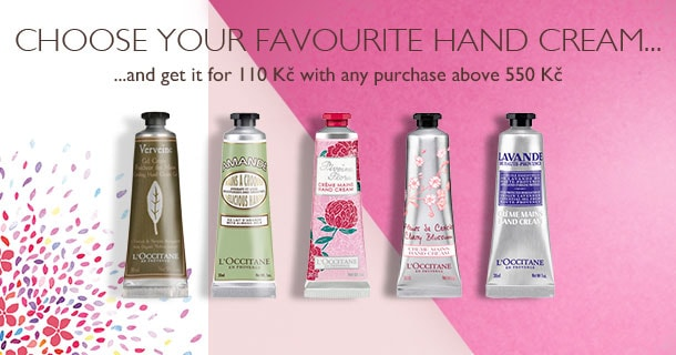 Choose your favourite hand cream...