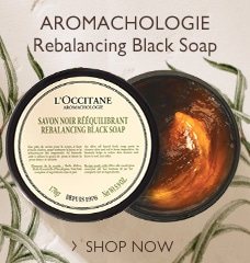 NEW AROMACHOLOGIE BLACK SOAP