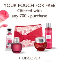 Your pouch for free