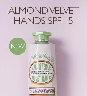 Almond Velvet Hands
