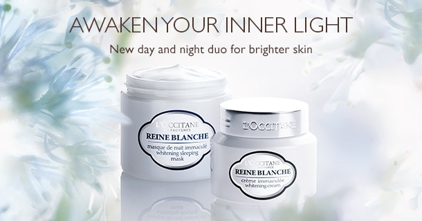 REINE BLANCHE WHITENING DAY & NIGHT DUO