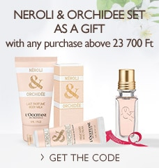 Neroli & Orchidee Set as a gift
