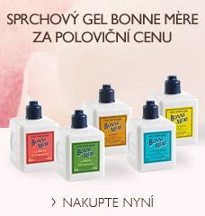 Sprchový gel Bonne Mère za poloviční cenu