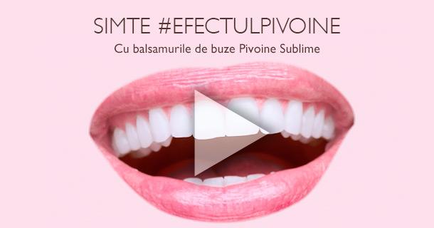 Balsam de Buze Pivoine Sublime
