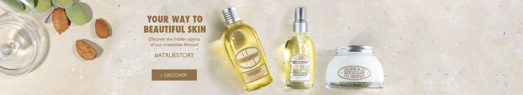 Almond the way to beautiful skin