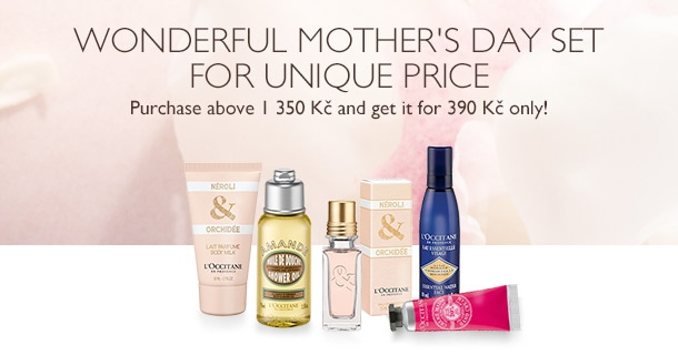 Wonderful Mother's Day Set for unique price