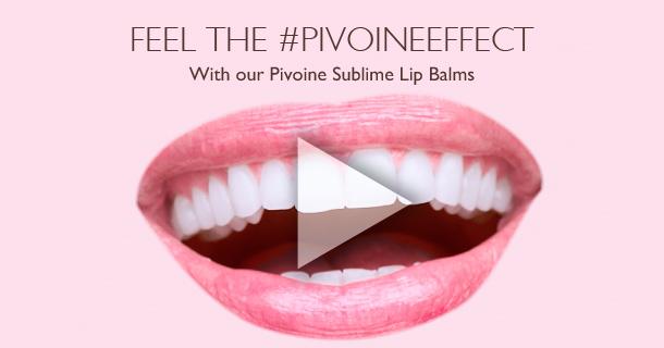 Feel the #pivoineeffect