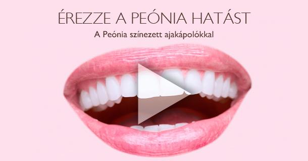 Érezze a Peónia hatást