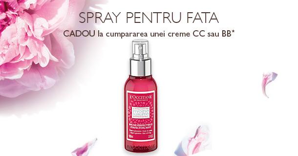 Spray pentru Fata Cadou