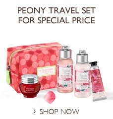 Peony Travel Set for Special Price