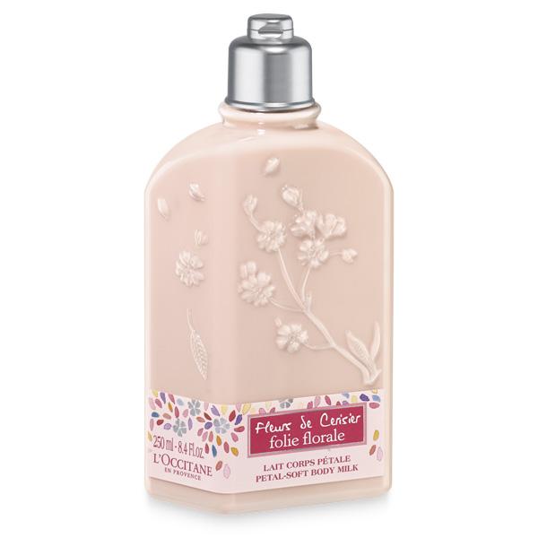 Cherry Blossom Folie Florale Petal-Soft Body Milk
