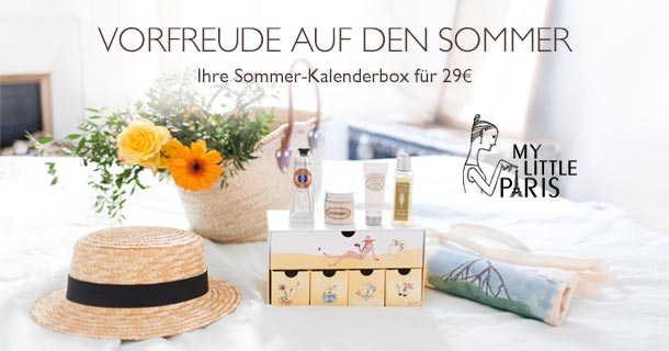 Sommer Kalenderbox